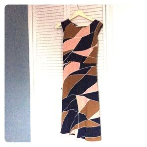 NWT Ann Taylor multicolor dress 12p